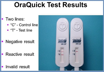 buying oraquick test kit from walgreens, cvs and walmart