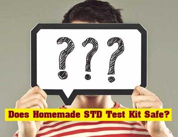 does homemade std test kit safe